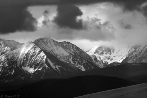 Photograph - Spanish Peaks by C Sitton
