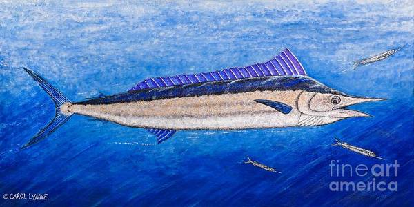 Wall Art - Painting - Spearfish by Carol Lynne
