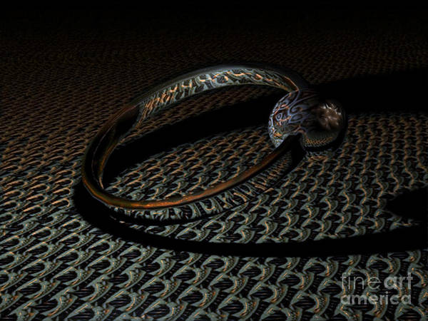 Wall Art - Digital Art - Special Ring by Jan Willem Van Swigchem