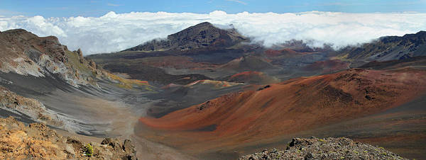 Photograph - Spectacular Haleakala Landscape Panorama by Pierre Leclerc Photography