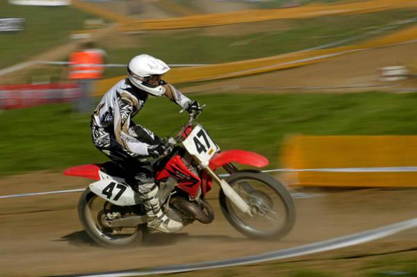Photograph - Speed - Motocross Rider by Matthias Hauser