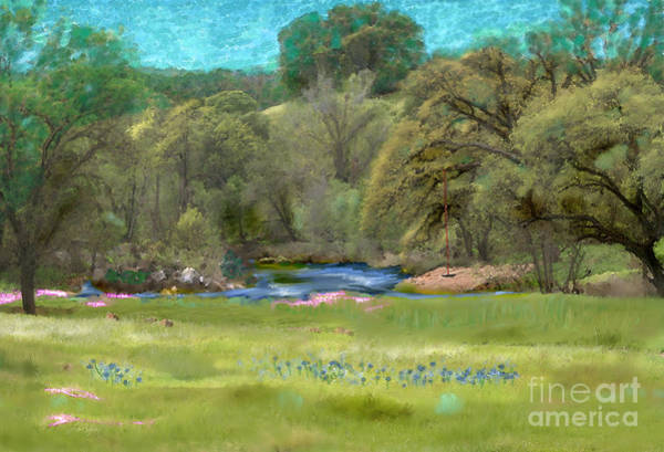 Digital Art - Spenceville Wildlife Area by Lisa Redfern