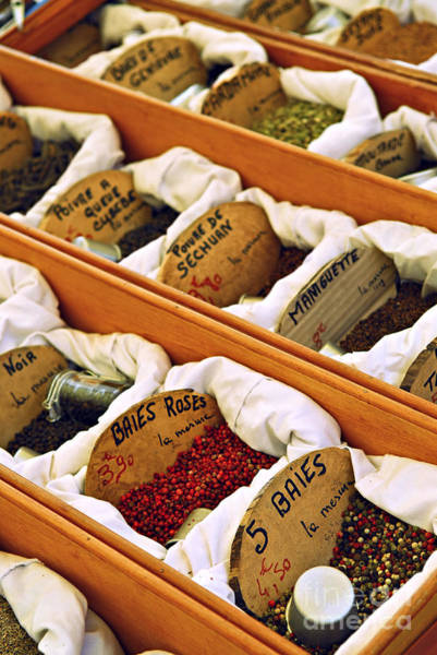 Wall Art - Photograph - Spices On The Market by Elena Elisseeva