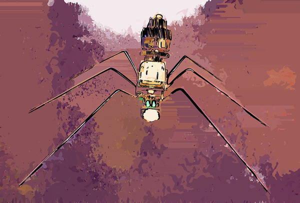 Floppy Disk Photograph - Spider #1 by Max Shkoropado