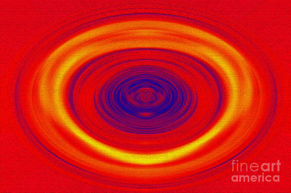 Wall Art - Photograph - Spinning Color by Kaye Menner