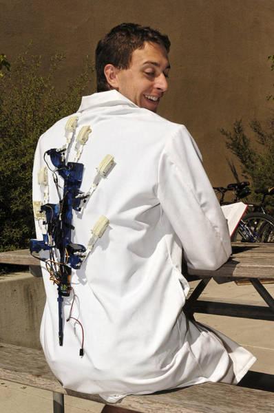Biomimetics Wall Art - Photograph - Spinybotii Climbing Robot by Volker Steger