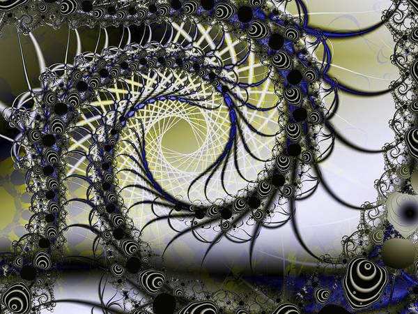 Digital Art - Spiral Web by Frederic Durville