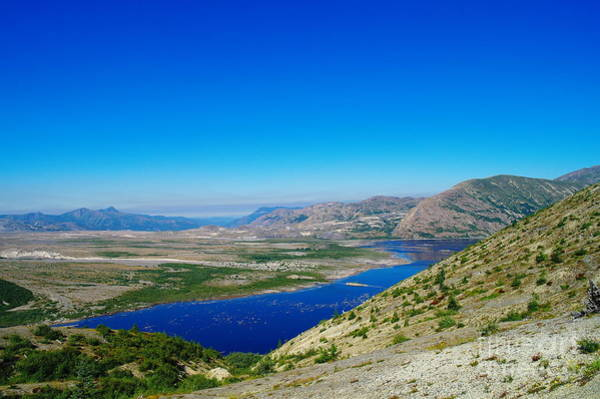 Montain Photograph - Spirit Lake From Windy Point  by Jeff Swan