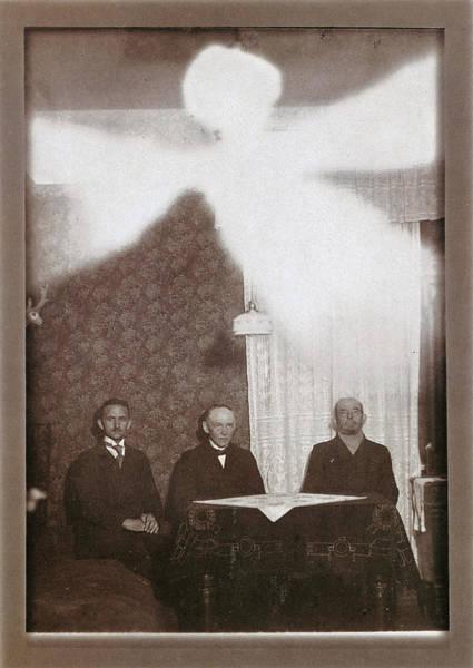 Photograph - Spirit Photograph, C1900 by Granger
