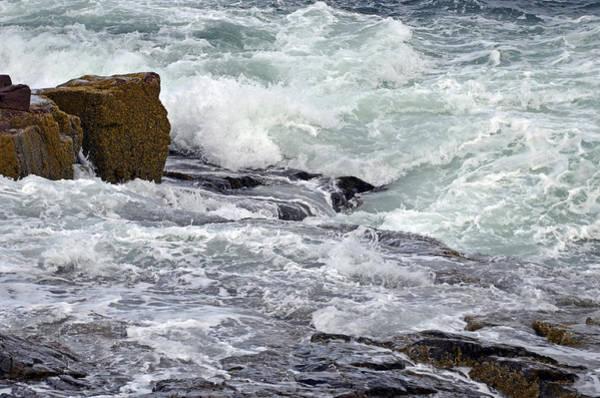 Digital Art - Splash Of Sea Lace by Lynda Lehmann
