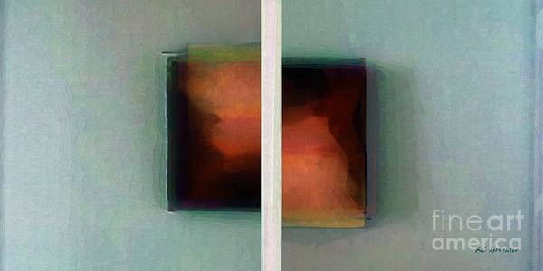 Painting - Split Infinitive by RC DeWinter