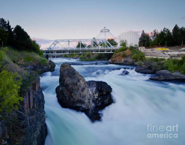 Expo 74 Photograph - Spokane Falls by Idaho Scenic Images Linda Lantzy