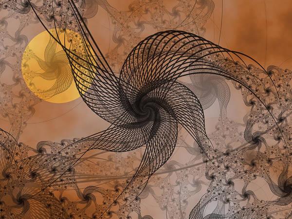 Wall Art - Digital Art - Spooky Moon 2 by Pam Blackstone