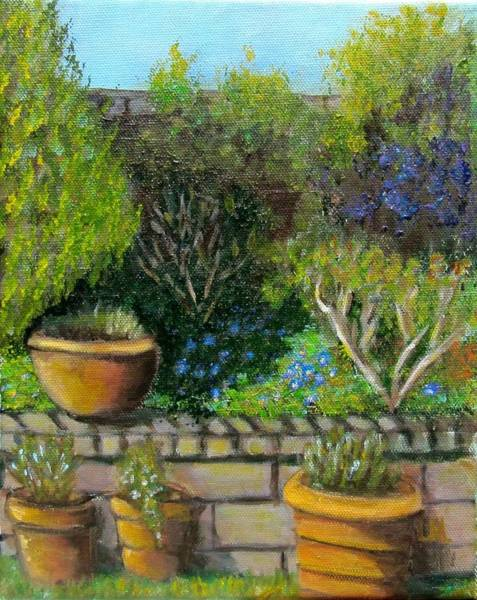Painting - Spring Emerges by Laurie Morgan