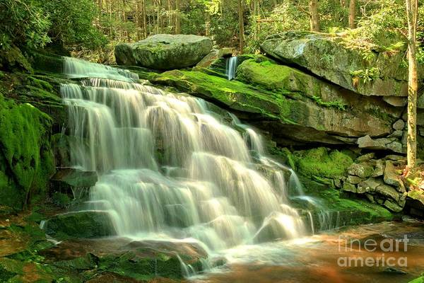 Photograph - Spring Falls by Adam Jewell