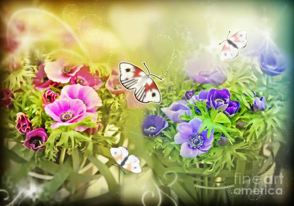 Digital Art - Spring Flowers  by Ariadna De Raadt