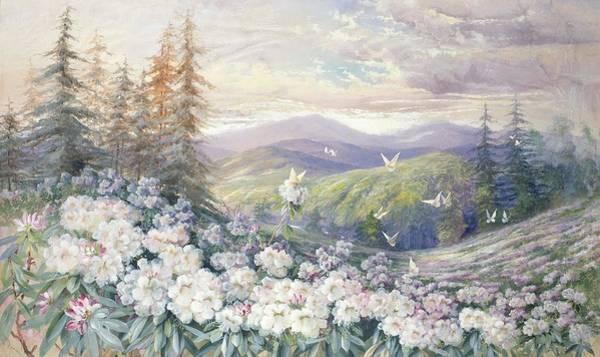 Painting - Spring Landscape by Marian Ellis Rowan