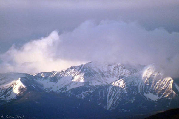 Photograph - Spring Storm Spanish Peaks by C Sitton