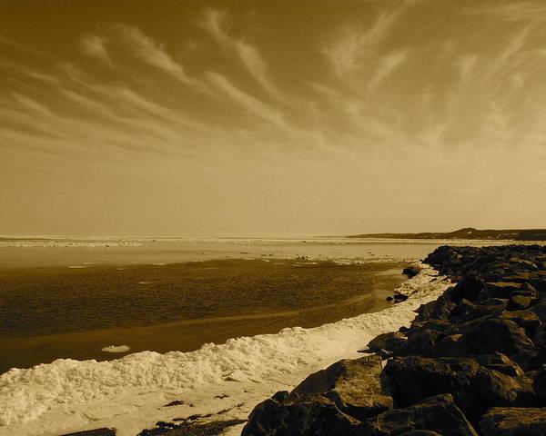 Photograph - Spring Wakes Ocean by Eli Tynan
