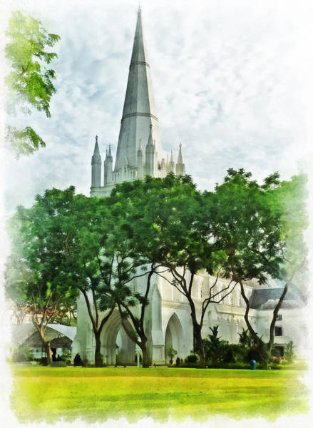 Stamford Bridge Wall Art - Photograph - St Andrew's Cathedral by Steve Taylor
