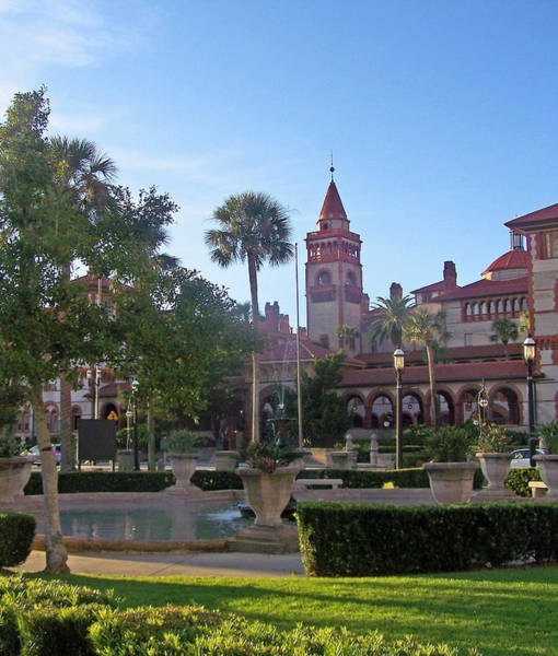 Flagler Photograph - St. Augustine Old World Architecture by Patricia Clark Taylor