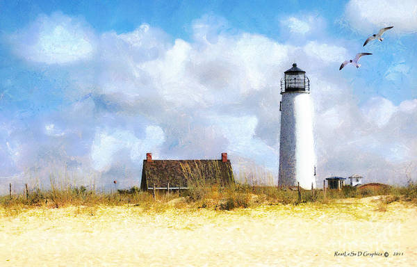 Photograph - St. George Island Lighthouse by Rhonda Strickland