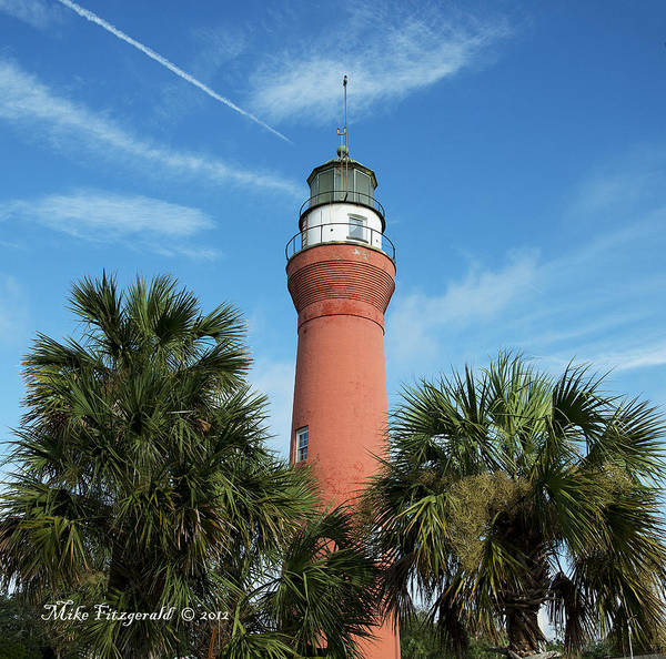 Photograph - St John's River Lighthouse by Mike Fitzgerald