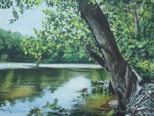 Painting - St. Joseph River by William Brody
