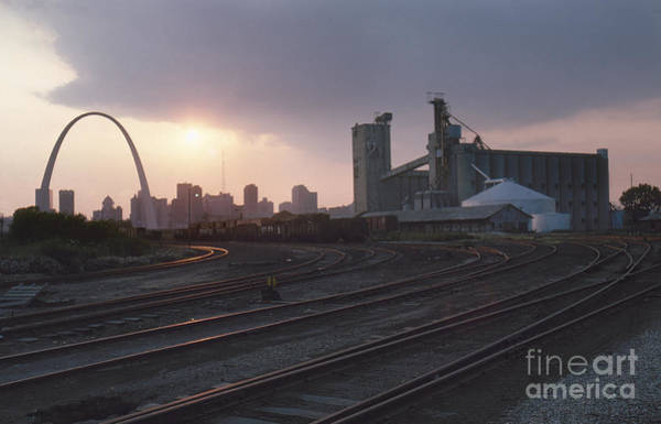 Photograph - St. Louis: Freight Yard by Granger