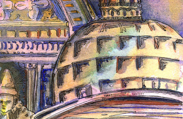 Wall Art - Painting - St. Marks Venice by Mindy Newman