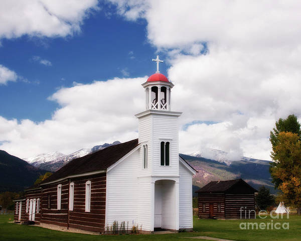 Photograph - St. Mary's Mission by Katie LaSalle-Lowery