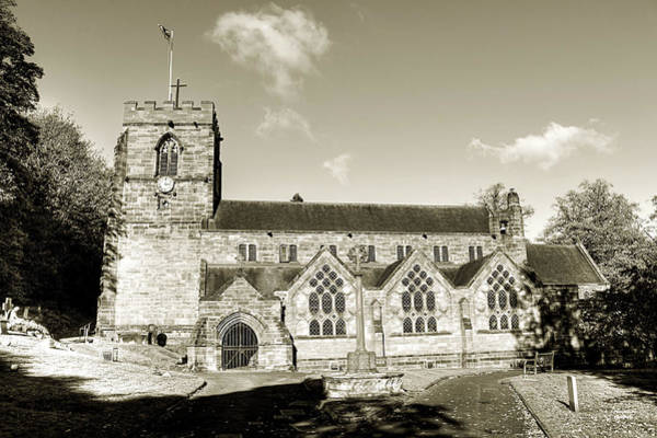 Photograph - St Michaels And All Angels Church by Sarah Broadmeadow-Thomas