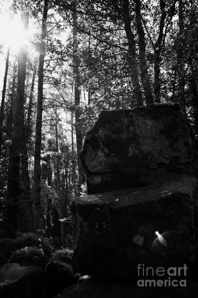 Celtic Mythology Wall Art - Photograph - St Patricks Chair Throne Druidic Site County Tyrone Northern Ireland by Joe Fox