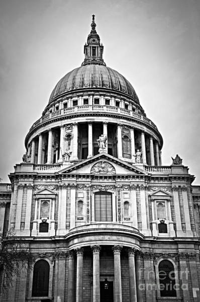 Wall Art - Photograph - St. Paul's Cathedral In London by Elena Elisseeva