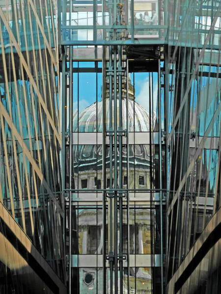 Taper Photograph - St Pauls Compressed by Steve Taylor