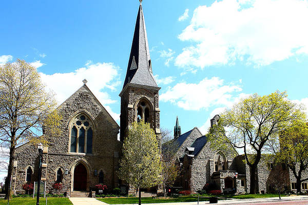 Photograph - St. Paul's Episcopal Church 1 by Scott Hovind