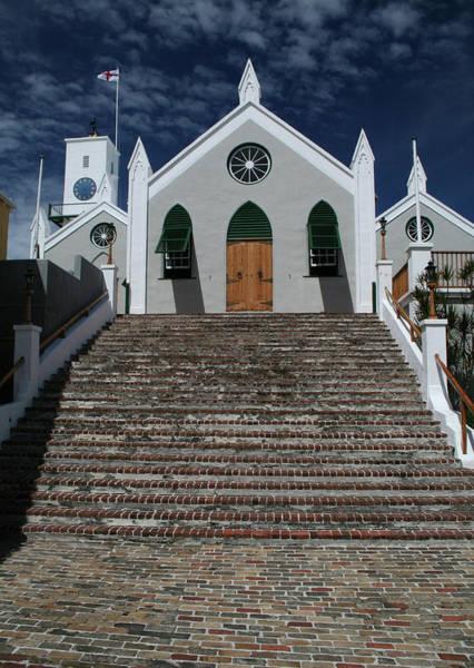 Photograph - St Peters Church Bermuda by Tom Singleton