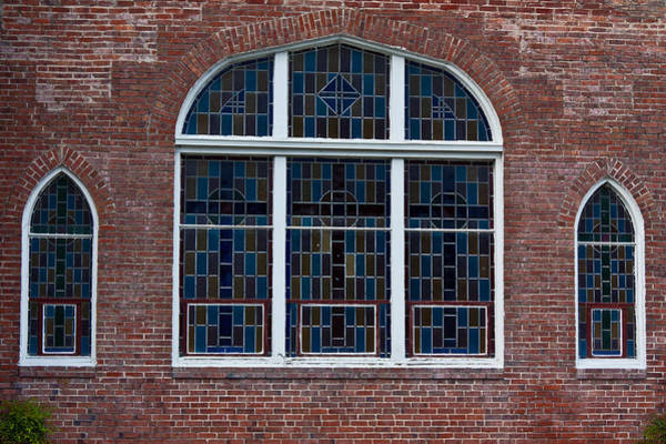 Photograph - Stained Glass At St Paul by Ed Gleichman