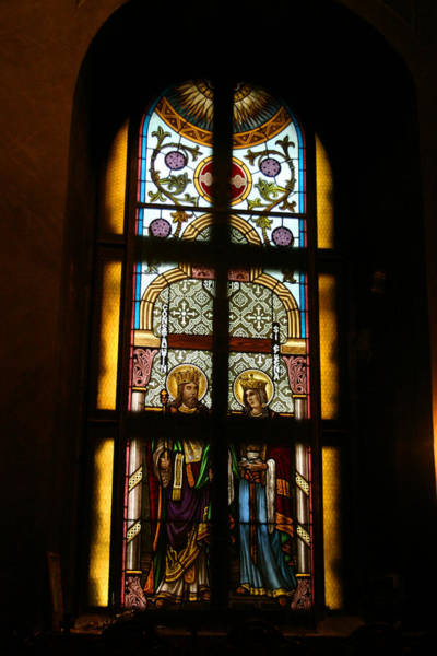 Photograph - Stained Glass II by Emanuel Tanjala