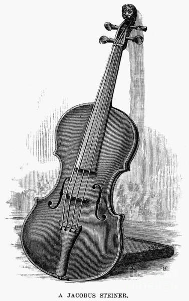 Violin Wall Art - Photograph - Stainer Violin by Granger