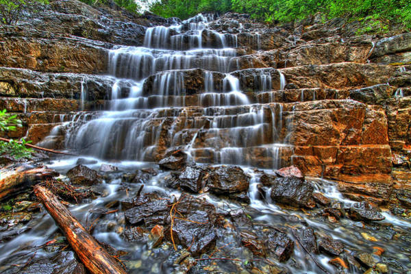 Wall Art - Photograph - Stairs Of Water by Scott Mahon
