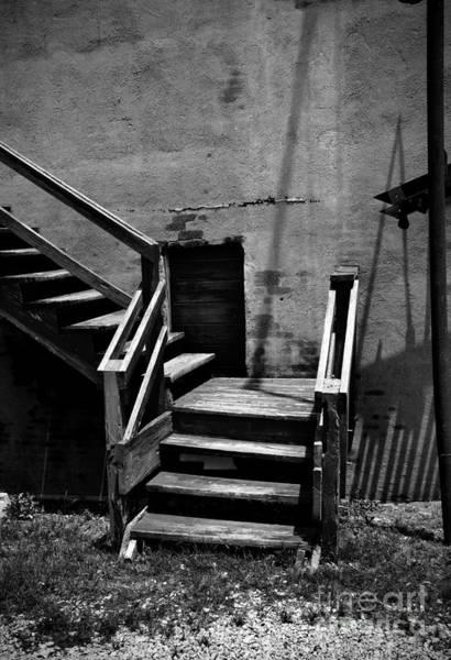 Stari Photograph - Stairway Left by Fred Lassmann