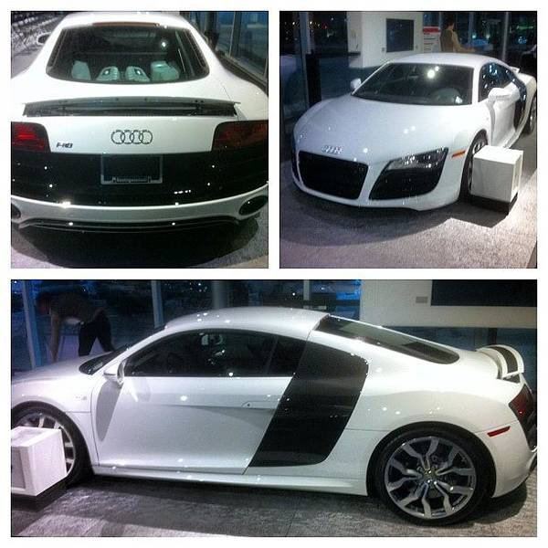 Audi Photograph - Standing Beside This Beauty Right Now by Exotic Rides