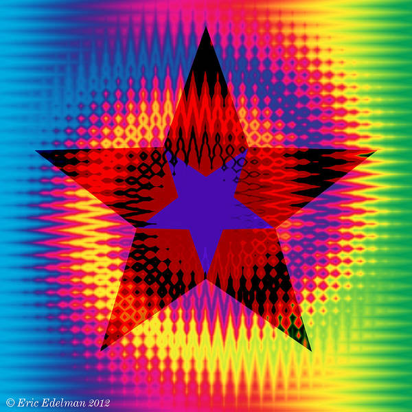 Digital Art - Star Dance by Eric Edelman