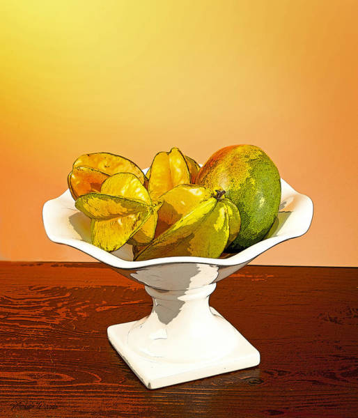 Photograph - Star Fruit And Mango by Michelle Constantine