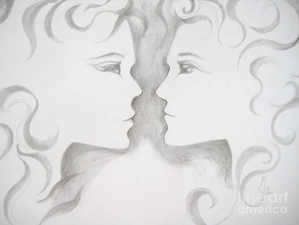 Staredown Art Print
