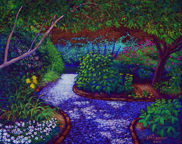 Painting - Southern Garden by Jeanette Jarmon