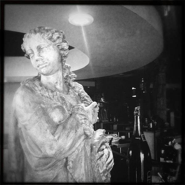 Wall Art - Photograph - Statue And Wine by James Roberts