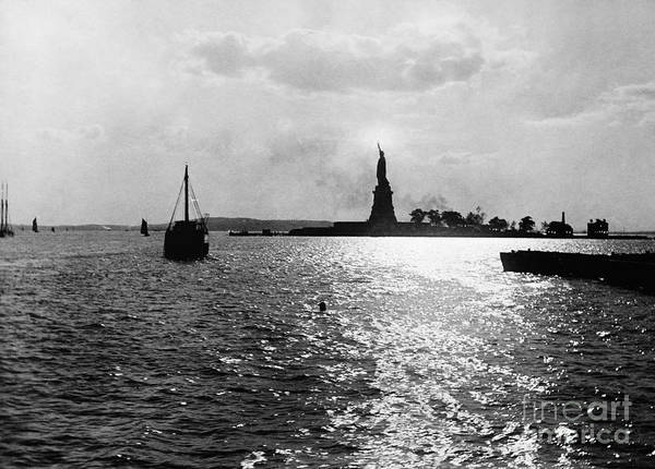 Photograph - Statue Of Liberty, 1891 by Granger