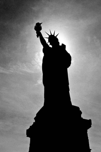 Photograph - Statue Of Liberty by Wes and Dotty Weber